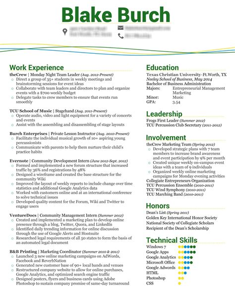 Marketing Internship Resume Description by Home Health Resume Description Make An Acting Resume