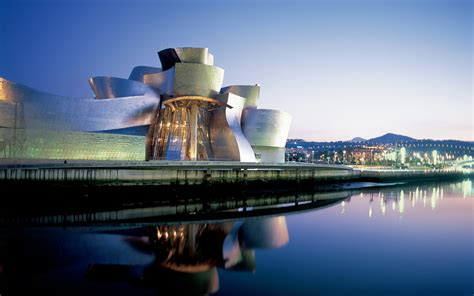 guggenheim museum bilbao spain wallpapers hd wallpapers