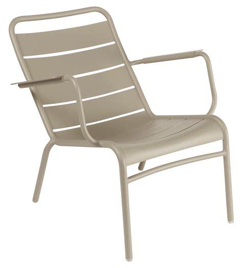 fauteuil jardin bas
