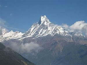 Tallest Mountains Annapurna Nepal Himalaya Peak view ...