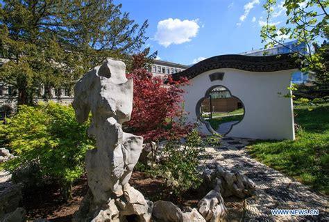 siege omc photos le jardin gusu au siège de l 39 omc à ève