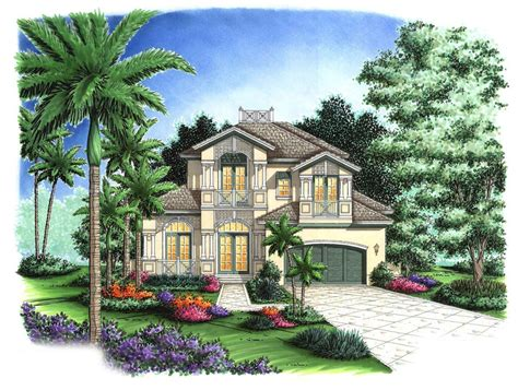 Beautifully Balanced Florida House Plan