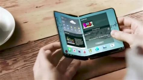 Samsung Galaxy X Is A Tablet That Folds Into A Phone