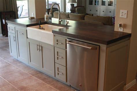 kitchen island sinks kitchen islands with farmhouse sink chic granite