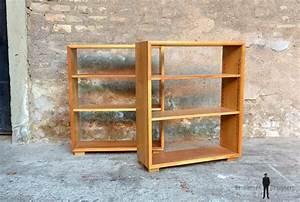 étagère Bibliothèque Bois : petite tag re biblioth que en bois massif ~ Teatrodelosmanantiales.com Idées de Décoration