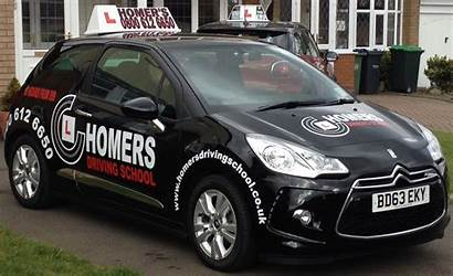 Driving Franchise Cars Instructor Tuition Homers Lessons