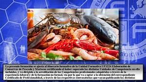 Uf1224 Elaboracion De Conservas De Pescado Y Mariscos