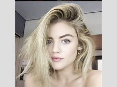 Lucy Hale Has Officially Gone Blond Will the New Look