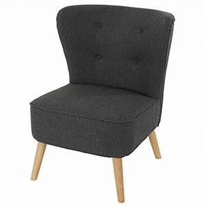 Designer Sessel Günstig : sessel malm t313 loungesessel polstersessel retro 50er jahre design anthrazit textil ~ Watch28wear.com Haus und Dekorationen