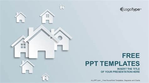 real estate powerpoint templates design