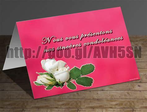 modèle carte de condoléances carte pour message de condol 233 ances gratuitement telecharger