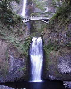 Waterfall Oregon Multnomah Falls