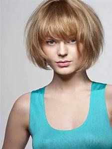 Coupe Cheveux Avec Frange : coupe de cheveux court avec frange ~ Nature-et-papiers.com Idées de Décoration