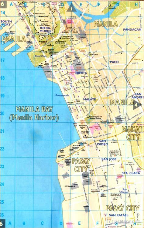 map  manila philippines   manila philippines