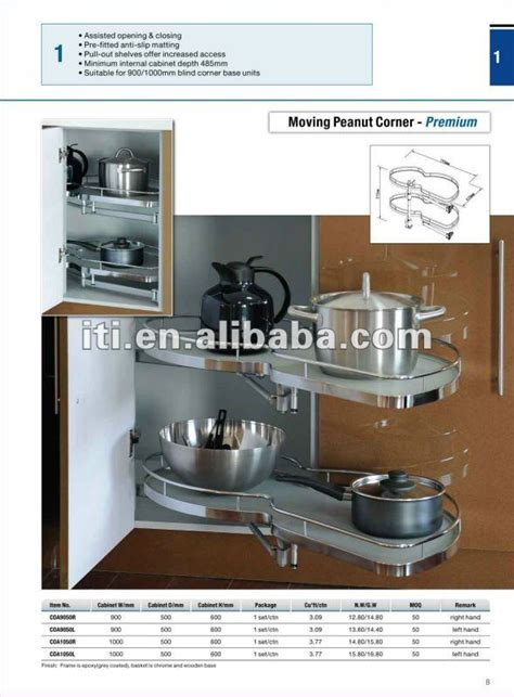 brands of kitchen cabinets kitchen blind corner cabinet basket china mainland 4870