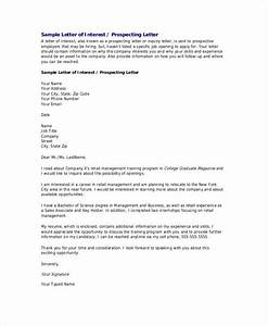letter of interest 12 free sample example format With letter of interest format