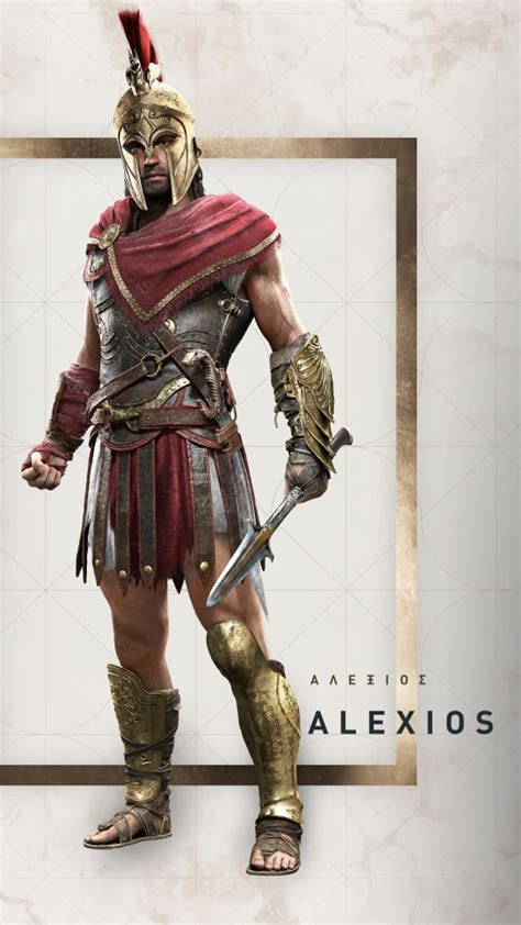 alexios assassins creed odyssey wallpapers hd