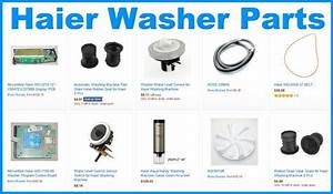 Haier Washing Machine Front Loader General Error Codes