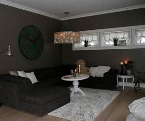 Dark room color schemes entrancing colored rooms for Dark paint colors for living room