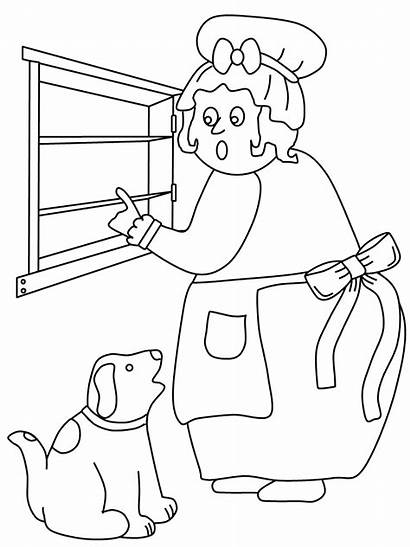 Hubbard Mother Coloring Popular