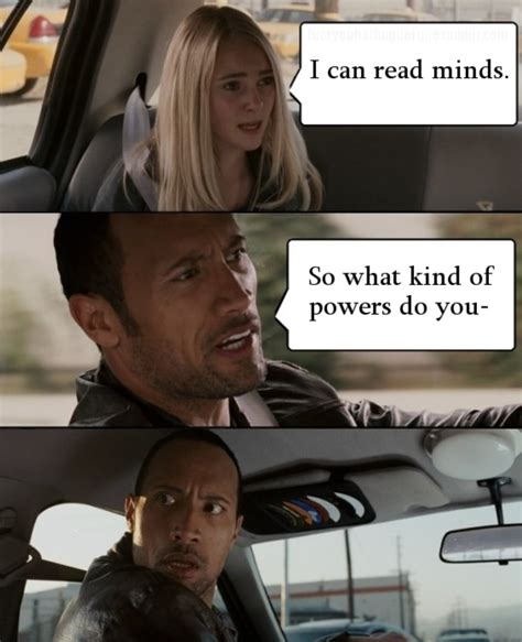 Witch Mountain Meme - image 101526 the rock driving know your meme