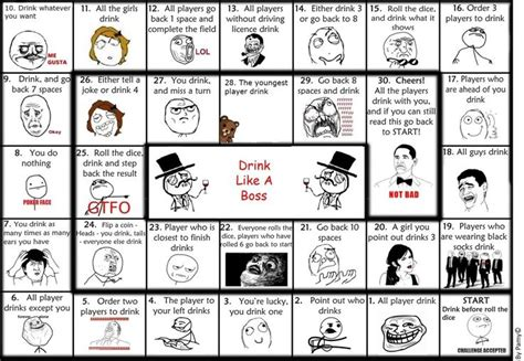 Drinking Game Meme - drink like a boss drinking game parties pinterest