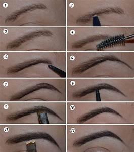 Eyebrow Tutorial for Long Eyebrows   Chikk.net