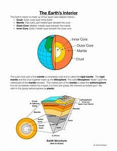 Earth U0026 39 S Interior Practice Assignment