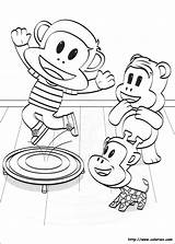 Julius Jr Kleurplaten Desenhos Coloriage Colorear Trampoline Ausmalbilder Colorir Dibujos Disegni Kleurplaat Imprimir Frank Paul Malvorlagen Series Ausdrucken Zum Coloring sketch template