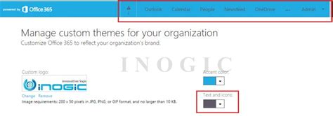 Office 365 Portal Url by Customize And Personalize Office 365 Portal Microsoft