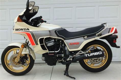One Owner -1982 Honda Cx500 Turbo