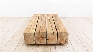 beam coffee table lounge tables from uhuru design With wood beam coffee table