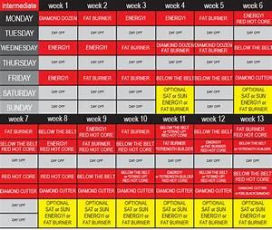Ddp Yoga Intermediate Workout Schedule