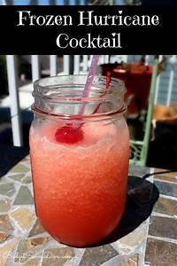 frozen hurricane cocktail recipe budget savvy