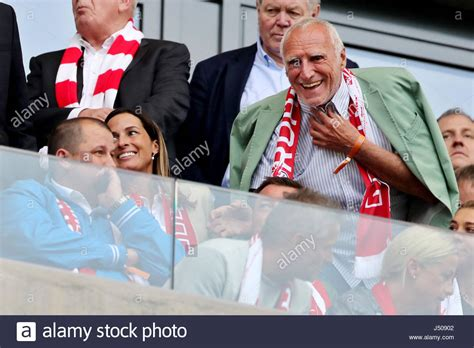 Leipzig, Germany. 13th May, 2017. Red Bull Chairman Dietrich Stock Photo, Royalty Free Image