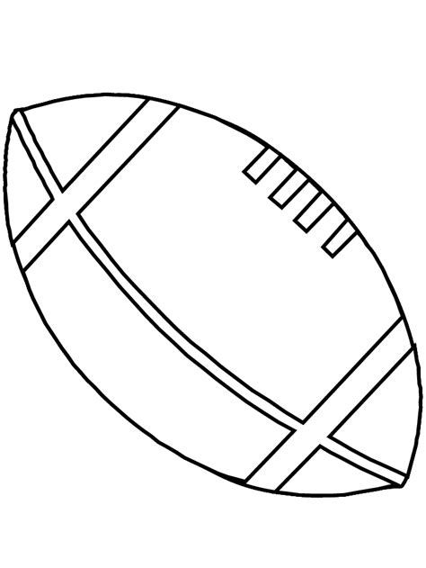 Rugby Kleurplaat by Printable Football Football Sports Coloring Pages