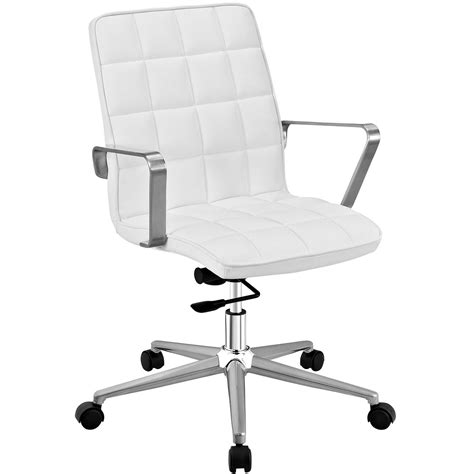 tile vinyl upholstered office chair with adjustable tilt
