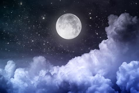 Moon And Clouds Wallpaper by 35 Clouds Moonlight Wallpapers At Wallpaperbro