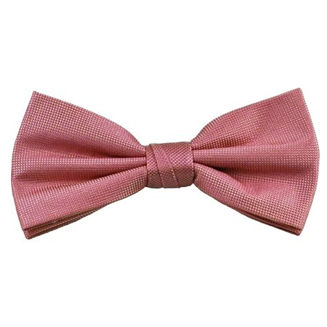 Light Pink Bow Tie by Plain Light Pink Silk Bow Tie From Ties Planet Uk