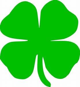 Green Shamrock Clip Art at Clker.com - vector clip art ...