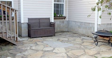 patio furniture northwest arkansas create a rock patio in your yard hometalk