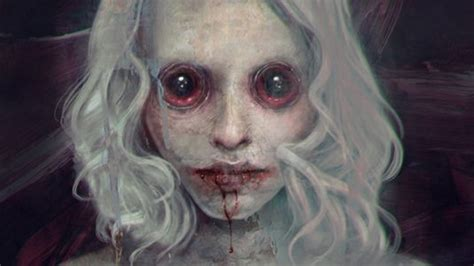 artists changing  face  horror page  creative bloq