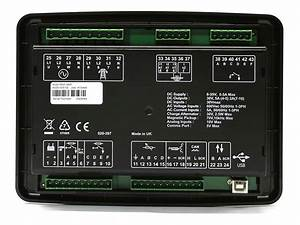 Tableau De C U00f4ntrol Dse 6020 Mkii Amf Commande Automatique