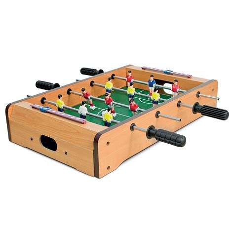 deluxe table top mini football table foosball players