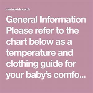 General Information Please Refer To The Chart Below As A
