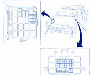 Isuzu Rodeo Ls 1999 Underhood Fuse Box  Block Circuit