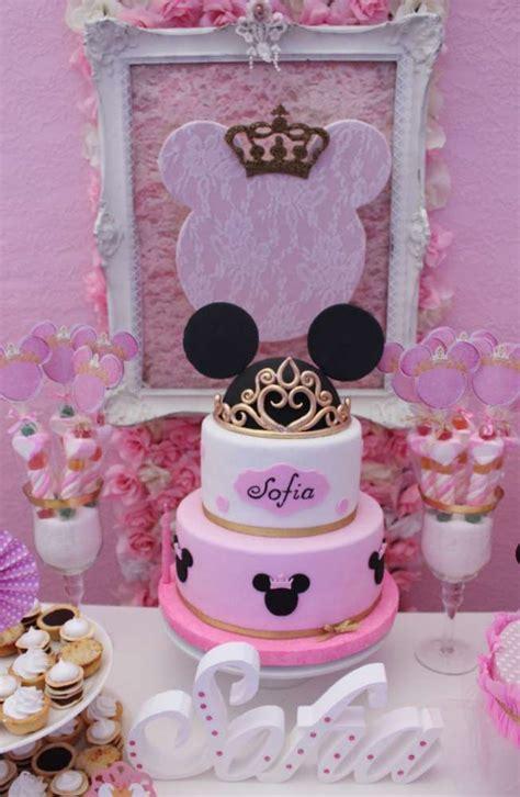 minnie mouse baptism party ideas photo    catch