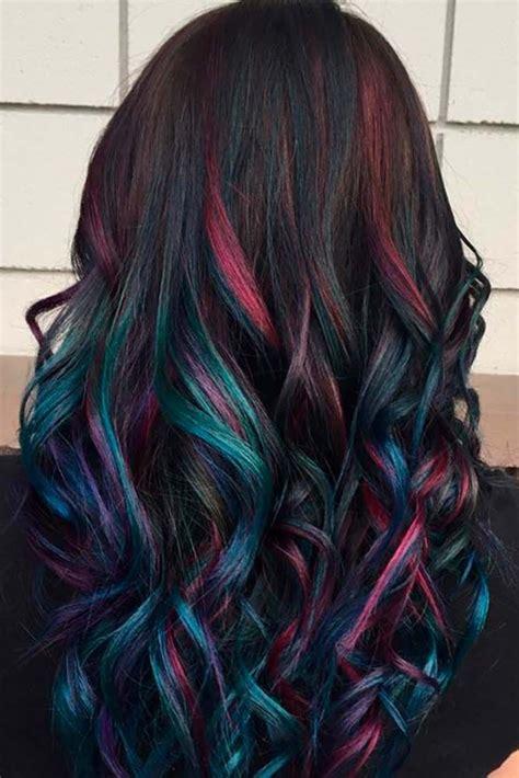fabulous rainbow hair color ideas hair hair dye