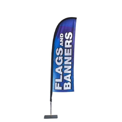 store front banner stand flag franchise print shop