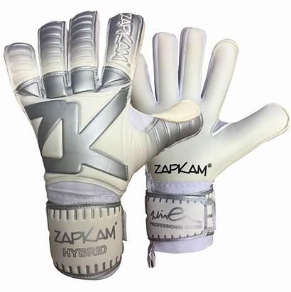 Gloves Goalkeeper Cut Hybrid Zapkam Goalie Goalkeeping